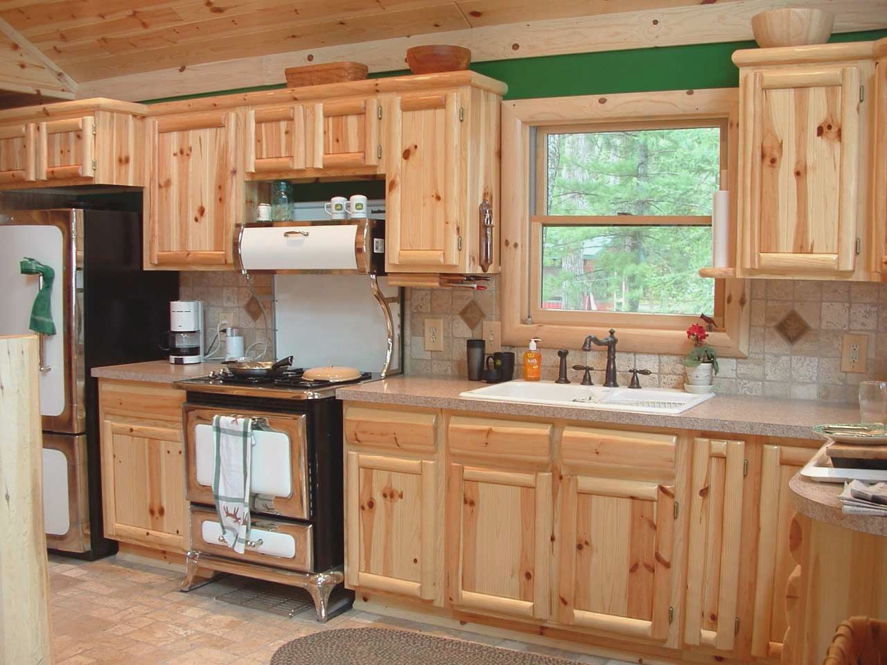 kitchens with pine cabinets al badar carpentry l l c 22296